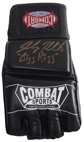 Contest: Win a pair of Combat Sports MMA gloves autographed by Johny 'Big Rig' Hendricks