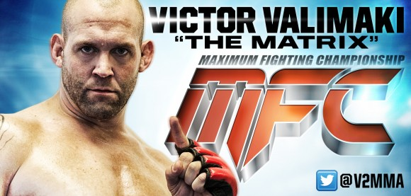 Former Light-Heavyweight Champion Victor Valimaki returns to fight at MFC 39