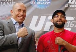 Majority of online voters think Georges St-Pierre will retain his title at UFC 167