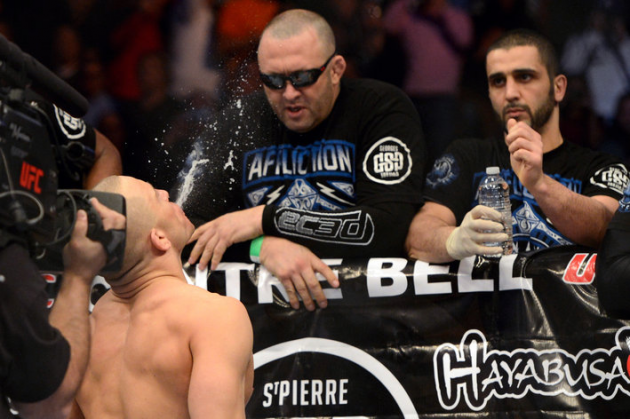 Kristof Midoux, Georges St. Pierre's trainer wants him to retire from the UFC