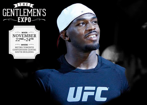 Meet Jon Jones at the Gentlemen's Expo on Saturday November 23