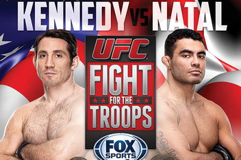 UFC Fight Night 31: 'Fight for the Troops 3' – Kennedy KO's Natal