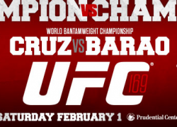 Two big title fights announced for UFC 169 in Newark, N.J. on Feb. 1, 2014