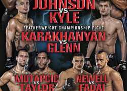Updated Fight Card:  World Series of Fighting 7 taking place in Canada on Dec. 7 in Vancouver