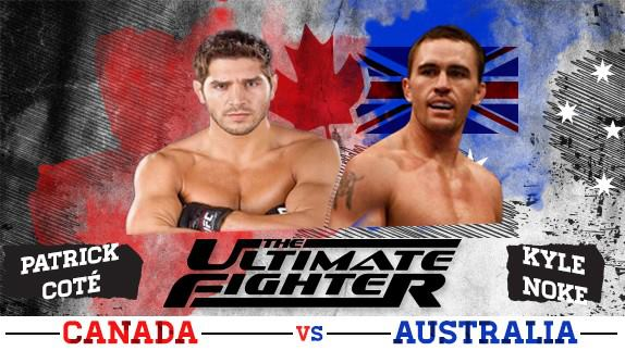 The Ultimate Fighter TUF 'Nations' Team Canada vs. Team Australia Cast Revealed