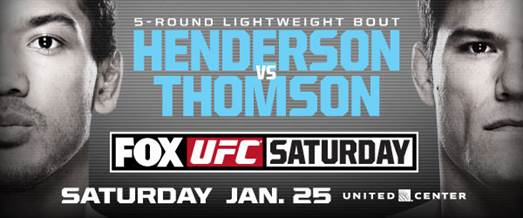 UFC Returns to Chicago with Former Champions Benson Henderson vs Josh Thomson