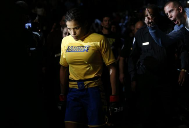 UFC 171: TUF female winner Juliana Pena added to Dallas fight card