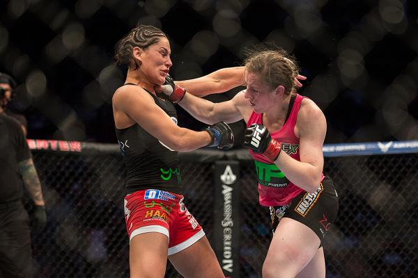 Jessica Eye's controversial split-decision win over Sarah Kaufman overturned to a No Decision by Texas Athletic Commission