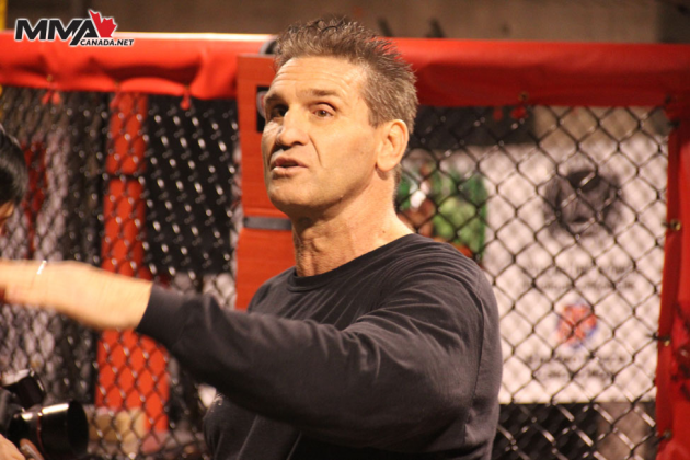 Ken Shamrock visits Toronto where he trained and answered questions from the fans
