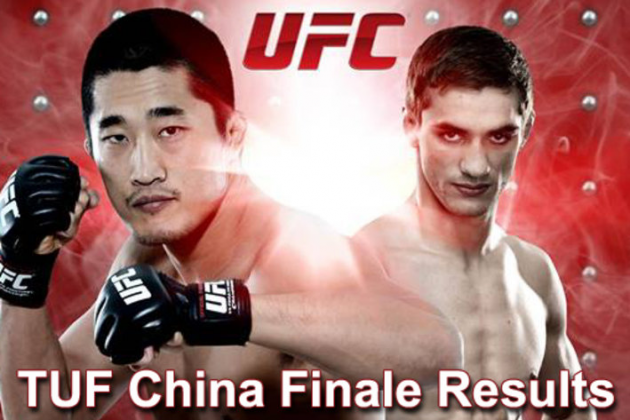 "TUF China results for 'Kim vs Hathaway"" in Macau"