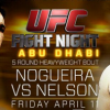 "UFC Fight Night ""Abu Dhabi"" available exclusively on UFC Fight Pass in Canada"