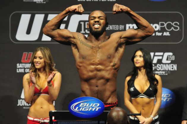 UFC 172 'Jones vs Teixeira' weigh in video stream and results