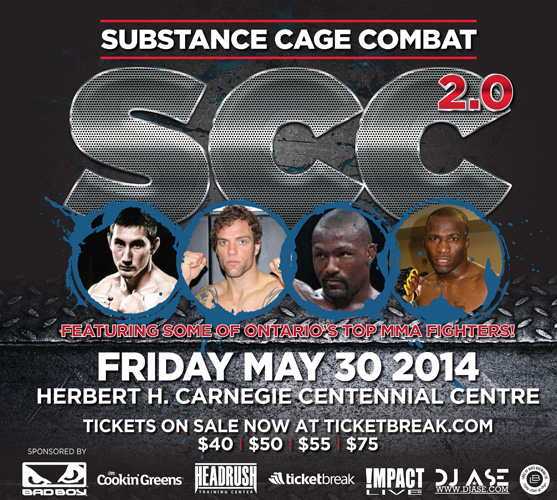 Watch Substance Cage Combat 2.0 LIVE from online pay-per-view