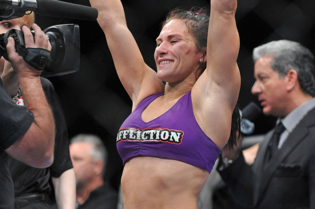 UFC women's bantamweight contender Cat Zingano announces she's medically cleared for Octagon return