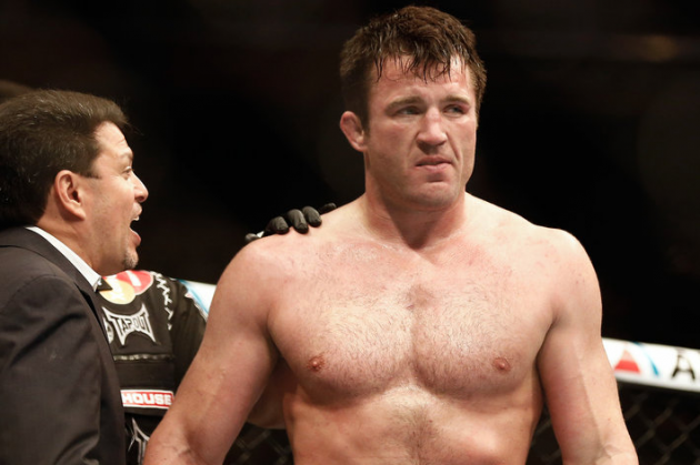 Chael Sonnen fails drug test, pulled from UFC 175 in Las Vegas
