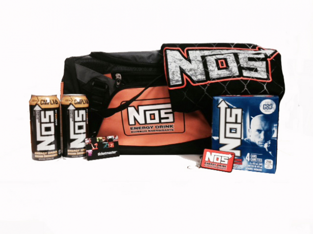 Win a Georges St-Pierre NOS prize pack including signed tee, gift card and more