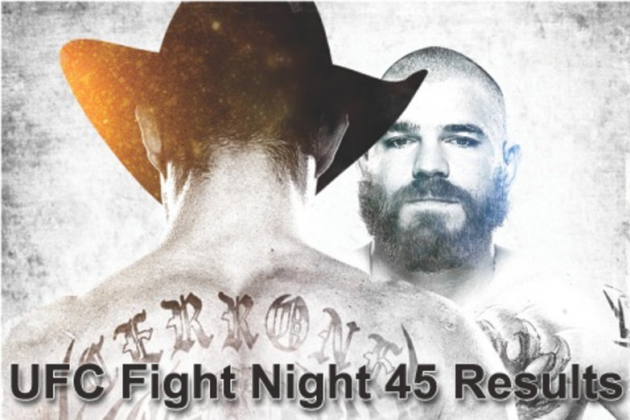 UFC Fight Night 45 quick results