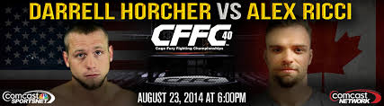 Internet PPV: Watch Canada's Alex Ricci battle Darrell Horcher at Cage Fury Fighting Championships on Aug. 23