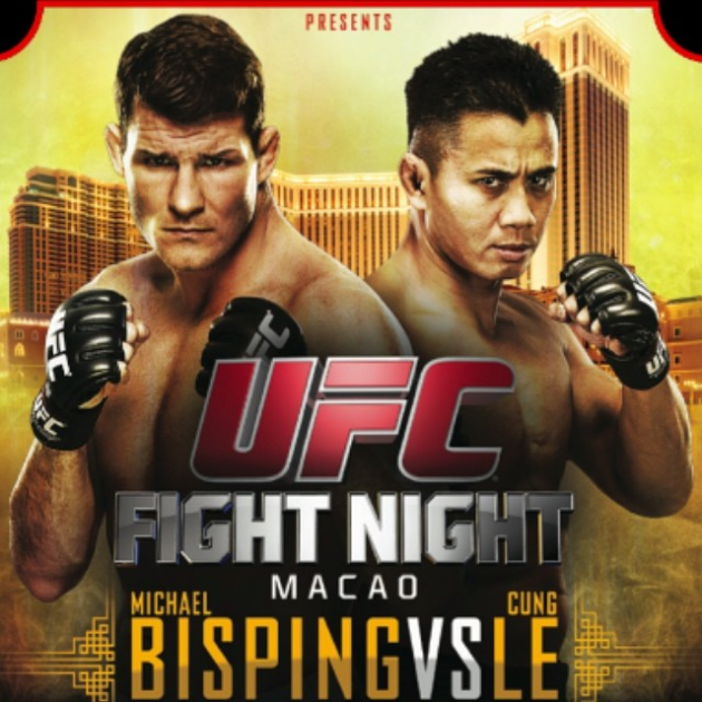 UFC Fight Night Macao: Bisping vs. Le media quotes