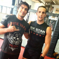 Quick Pic: Elias Theodorou and Rory MacDonald train together for UFC Halifax bouts