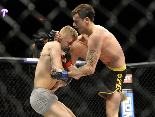 Mike Ricci decisions George Sotiropoulos at Titan FC 29