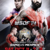 "Rama vs. Mehmen for inaugural WSOF heavyweight  title at ""U.S. vs. Canada"" on Oct. 11"