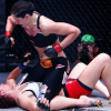 Quick Pic: Charmaine Tweet dropping bombs on Veronica Rothenhausler at Invicta FC 8