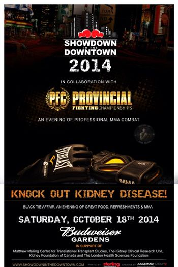 Provincial Fighting Championships returns with Ronson vs. Dom O'Grady on October 18 in London, On