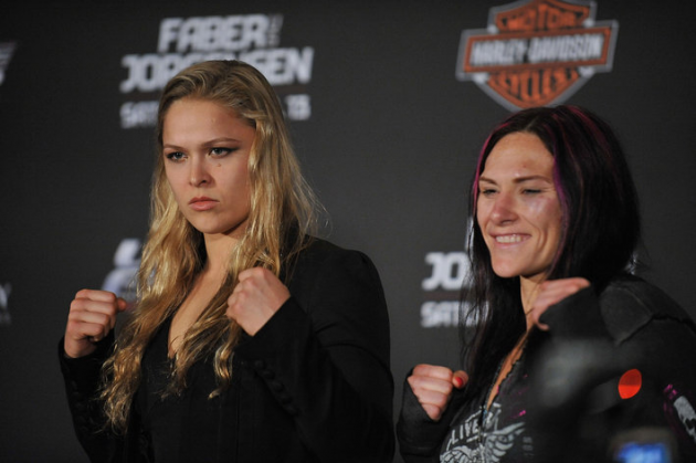 Ronda Rousey vs. Cat Zingano fight official after win at UFC 178
