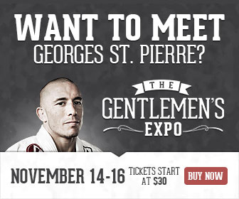 Win tickets to the Gentlemen's Expo in Toronto featuring Georges St-Pierre