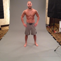 Quick Pic: TUF Canada champ Chad Laprise looks 'shredded' for his UFC Halifax photoshoot