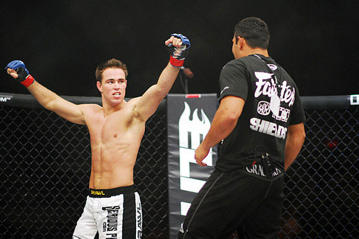 WSOF 14 results: Shields taps out Ford in Edmonton *Watch the submission inside*