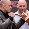 UFC's Lorenzo Fertitta and Dana White meet with Georges St-Pierre in Montreal