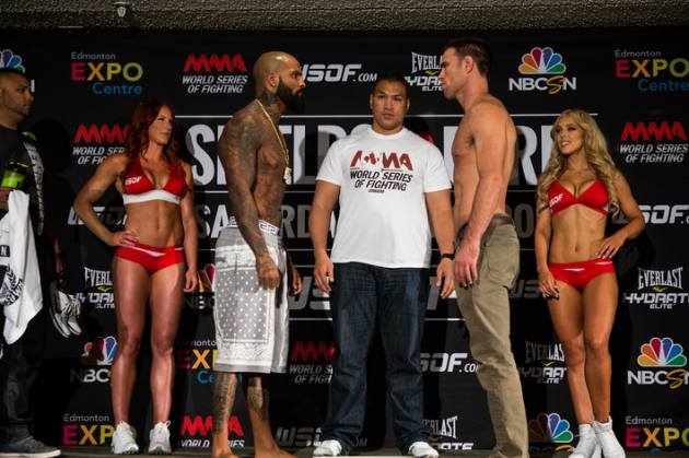 """WSOF 14 'Shields vs. Ford"""" official weigh in video replay and results"""