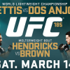 UFC returns to Dallas on March 14 with two mega title fights