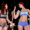 Hear what Charmaine Tweet and Cyborg said to one another during the Invicta FC weigh ins