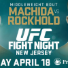 Machida faces Rockhold when UFC returns to Prudential center on April 18