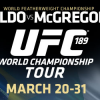*Updated* UFC 189 'World Championship' Tour adds Calgary public event