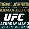 Two title fights headline UFC 187 as Jones meets Johnson and Weidman collides with Belfort
