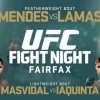 UFC Fight Night 63 results: Mendes blasts Lamas, Iaquinta tells crowd to F*CK OFF!