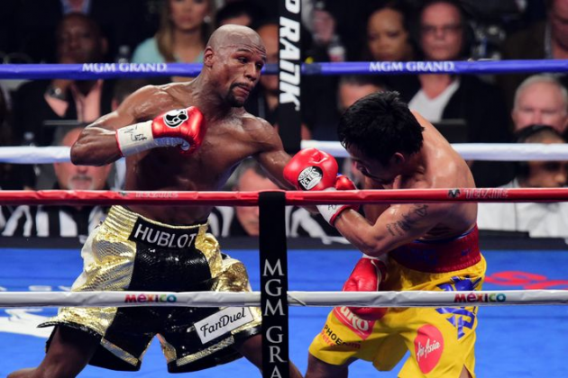 UFC Fighters react to 'Money' Mayweather Victory last night in Las Vegas