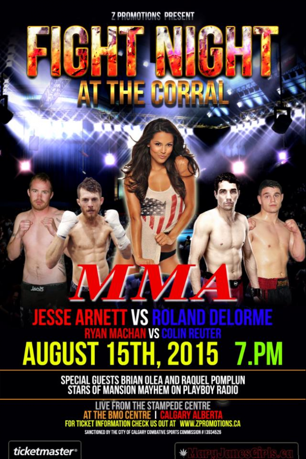 Fight Night at the Corral – Calgary