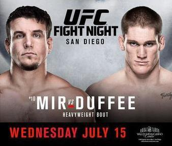 UFC Fight Night 71: Duffee vs. Mir