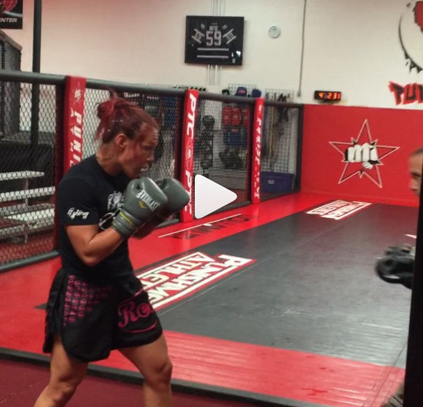 Watch this new video from Tito Ortiz proving why Ronda Rousey is ducking Cris Cyborg