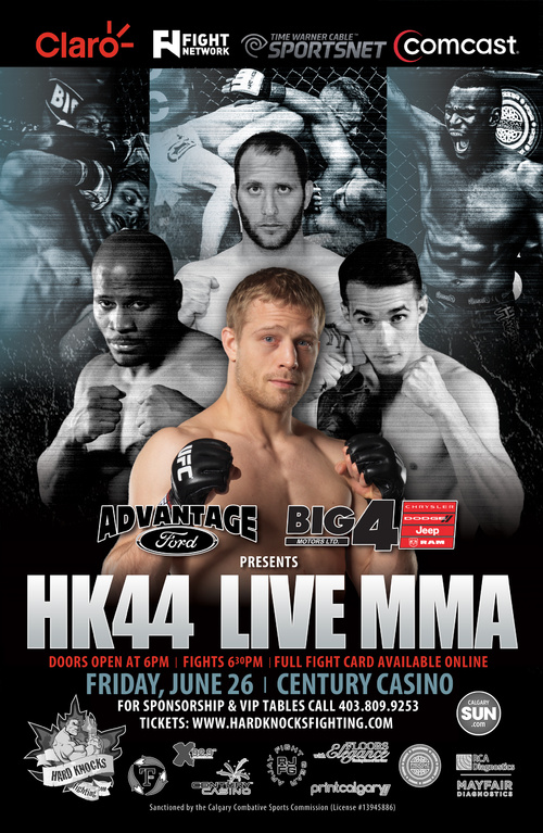 Rodney Wallace vs. Kalib Starnes set for co-main event at HK44 in Calgary