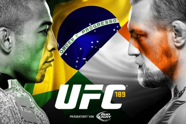 "Latest UFC 189 fight card for 'Aldo vs. McGregor' and ""Lawler vs. MacDonald"" on July 11 in Las Vegas"