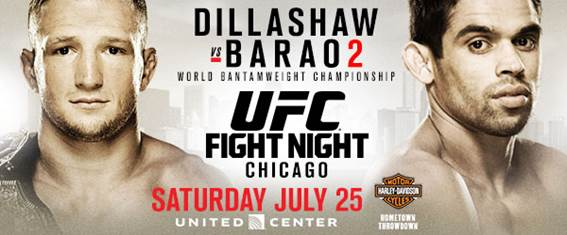 It's official! Dillashaw and Barao to settle score in long-awaited championship rematch on July 25