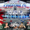 Prestige FC announces first fights for Oct. 24 event in Weyburn, Saskatchewan (Poster Revealed)
