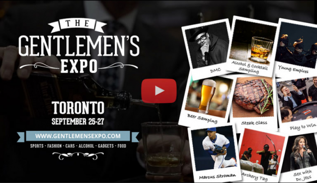 See DMC and more at this year's Gentlemen Expo in Toronto on September 25-27