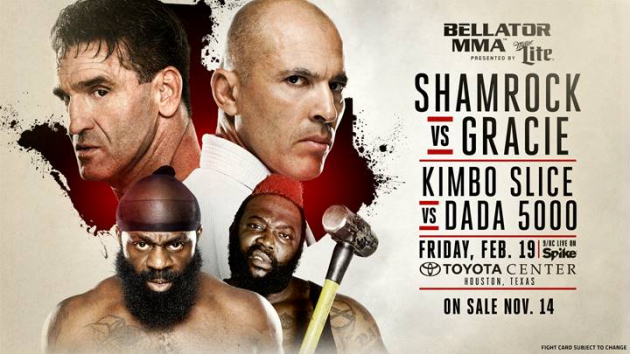 WOW! Ken Shamrock vs. Royce Gracie III set for Feb 19 in Houston
